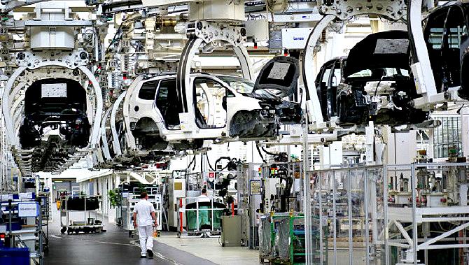 работа на заводе Škoda Auto